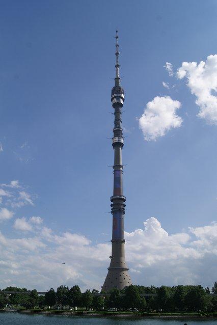 タワー高さランキング世界第4位オスタンキノ・タワー