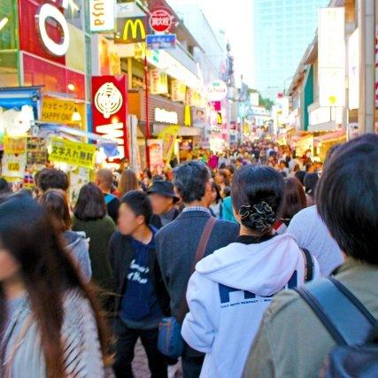 人口密度ランキングトップ10!日本第1位 は東京都 6,349人/km2!!